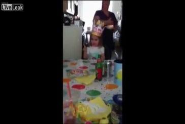 Souhait d'une petite fille pour son anniversaire