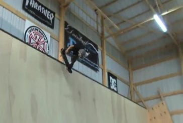 Skateboarder de 8 ans