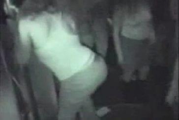 Danse sexy amateur en discothèque