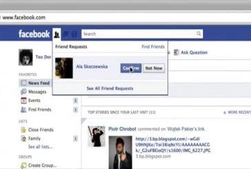 Facebook attention au demande d'amitié d'inconnu