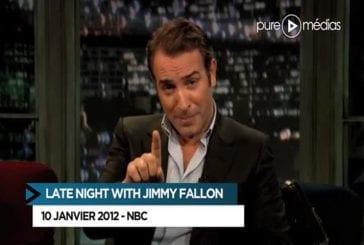 Jean Dujardin dans un show tv americain