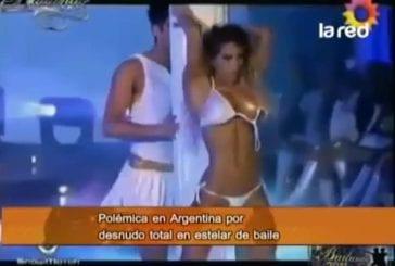 La polemique danse avec les stars en argentine