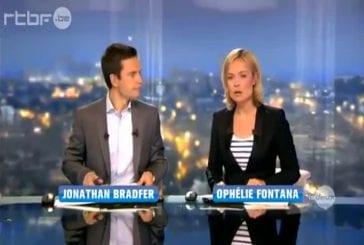 Lapsus au journal télévisé belge RTBF