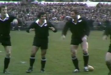 Le haka des All Blacks en 1973