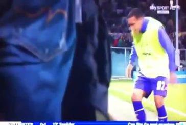 L'entraineur de la fiorenti frappe un de ses joueurs
