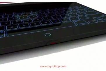 L'ordinateur portable enroulable
