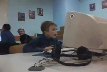Que regarde cet enfant