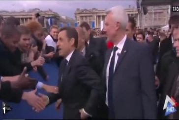 Sarkozy a peur de se faire voler sa montre