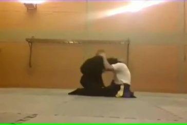 Un combat entre experts en art martiaux