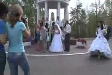 Un mariage russe fini en grosse baston