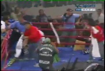 Un match de boxe qui dégénère