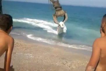 Nouvelle activité insolite pour la plage