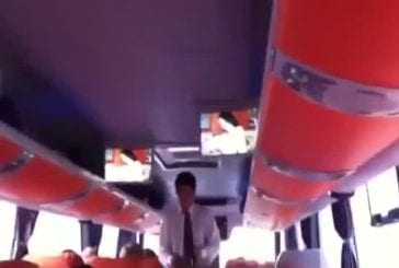 Video porno dans un bus