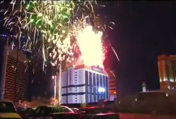 Implosion spectaculaire du nouvel hôtel de Las Vegas