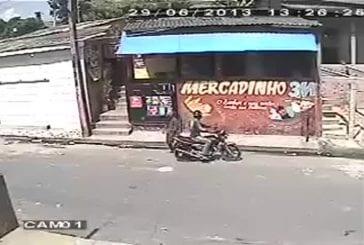 Tentative de vol brésilienne va drôlement mal