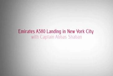 Avion A380 attérit à New York JFK Airport
