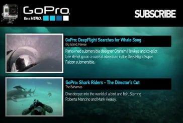 GoPro en plongée sous-marine