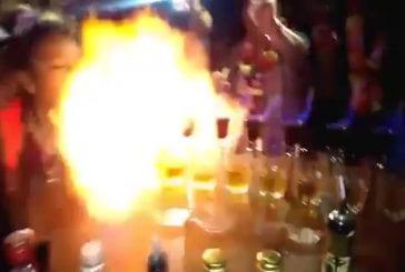 Effet domino avec 100 Jägerbombs