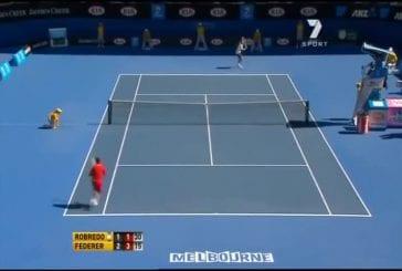 Top 10 des improvisations de Roger Federer