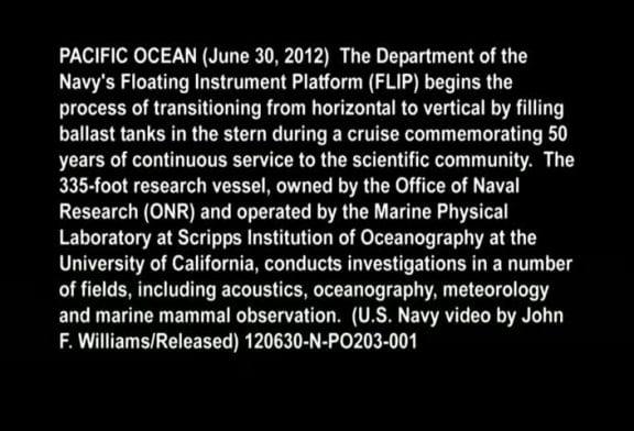 Navire de 100 mètres et 700 tonnes se retourne en mer