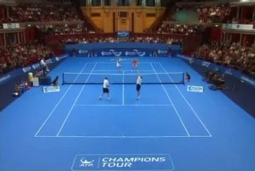 Mansour Bahrami artiste du tennis