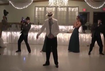 Danse de mariage sur Smooth Criminal