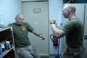 Bizutage d'un cadet à la marine US