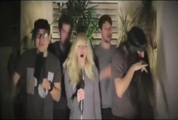 Taylor swift réalise une reprise a cappella