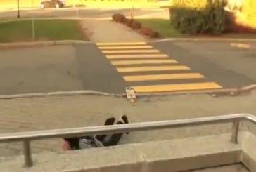 Mauvaises réceptions en skateboard