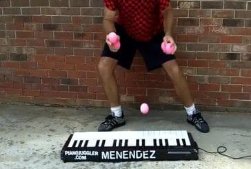 Jongleur de piano le plus rapide au monde