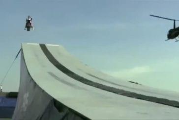 Record du monde de saut en motoneige
