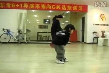 Jeunes enfant danse le hip hop