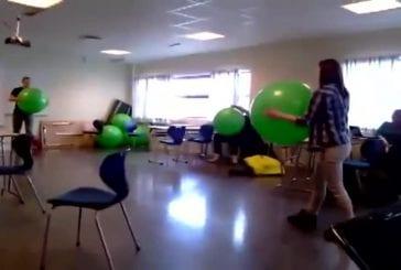 Owned par ballon d'exercice