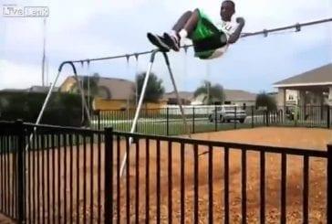 Balançoire saut FAIL