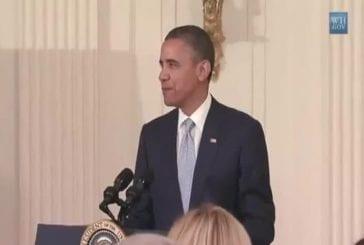 Barack obama chante MC Hammer