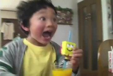 Enfants japonais raffolent de Bob l'éponge