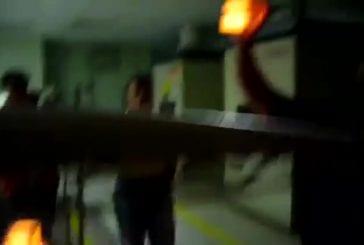 Navette spatiale démonstration de tuile thermique
