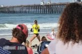 Surfer Pro s'échauffe avec une danse twerk sexy