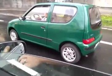 Accident durant un drift