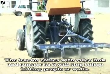 Tracteur mobile