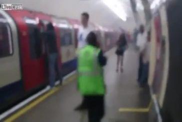 Passagers du métro échappent à un incendie