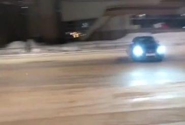 Drift avec une Audi S5 tourne mal