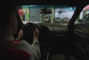 Faire des drifts dans un parking