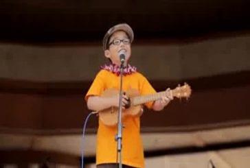 Aidan James - 8 year old covers Train, Hey Soul Sister