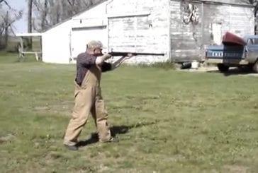 Quatre calibres de fusils de chasse