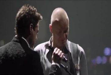 Robert Downey Junior chante avec Sting