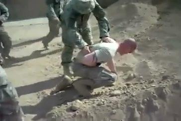 Militaire se fait tirer dans la poitrine par lance-grenades