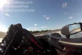 Vue de l'intérieur d'une F1