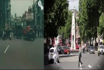 Londres en 1927 & 2013 côte à côte