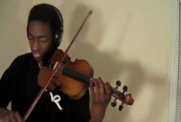 Eric Stanley reprend Lady Gaga ft. Beyonce au violon